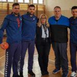 Reprezentativci Srbije i bivši učenici OŠ Branislav Nušić posetili svoju školu